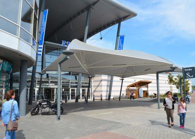 Texabri, abri de passage du Géant Casino d'Angers