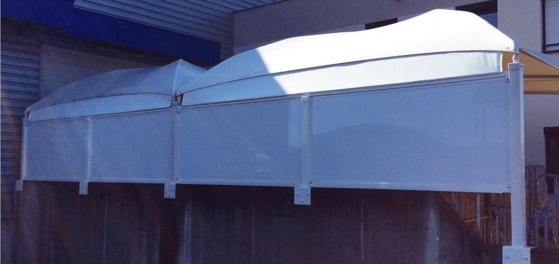 Texabri construit des abris en toile tendue pour l'industrie