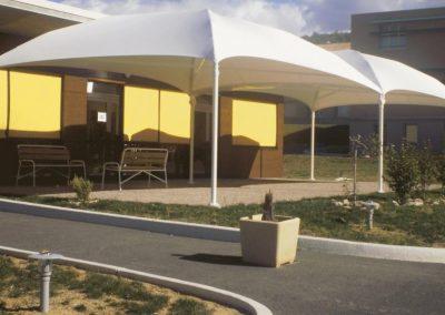 Texabri fabrique des auvents de terrasse