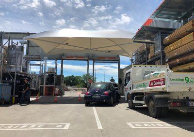 Texabri - Abri de passage, magasin Bricoman Toulouse