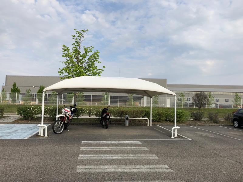 Texabri, abri de parking pour les deux-roues