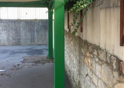 Préau d'école Texabri : Ecole des Grands-Champs