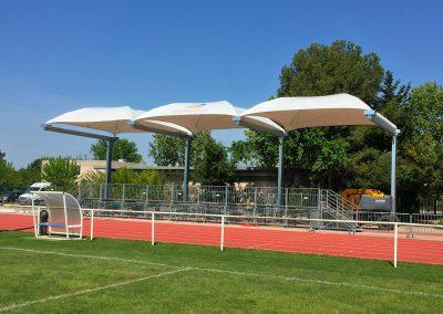 Texabri - abri sur mesure, stade des Alpilles Saint Martin de Crau